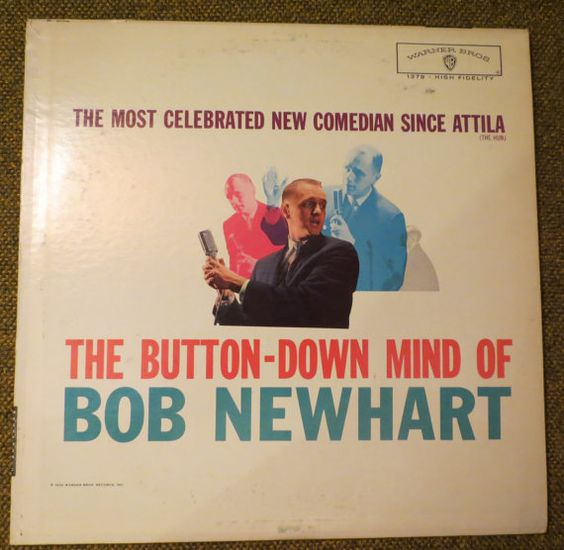 Bob Newhart record album The Most by BigfootCountryTrader on Etsy