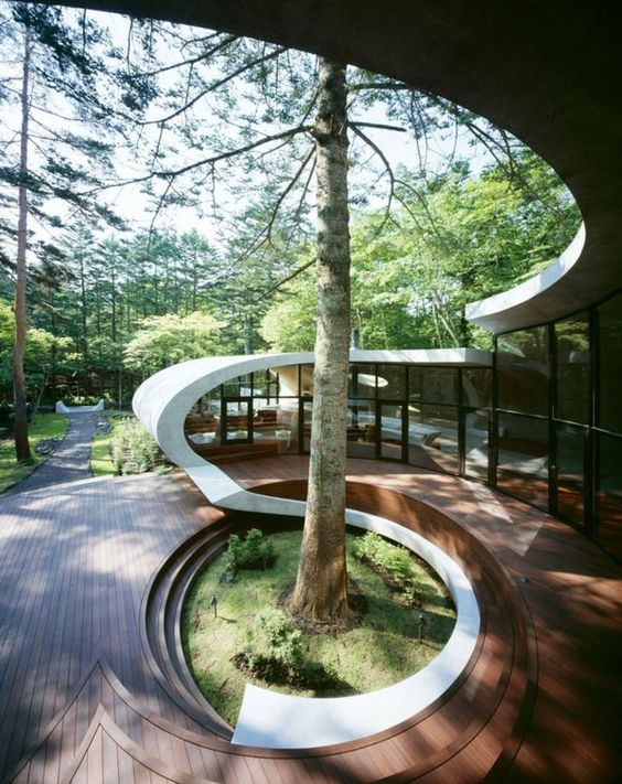 View From The End | Organic Architecture | Pinterest | Swedish House,  Organic Architecture And Architecture