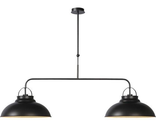 pendelleuchte hamois 2 flammig grau b 106 cm bei hornbach. Black Bedroom Furniture Sets. Home Design Ideas