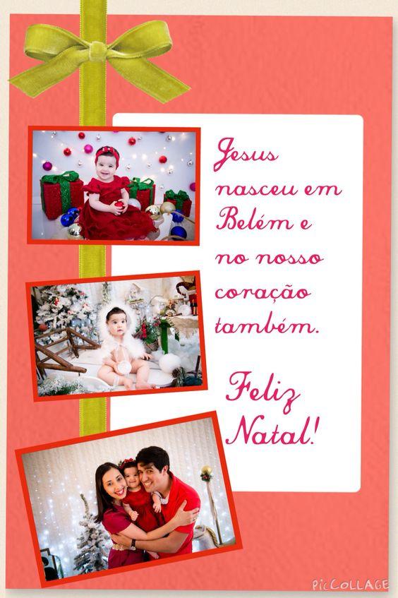 Natal #cartao #fotofamilia