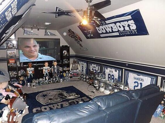Man Cave Ideas Dallas Cowboys : Man cave forget that woman football dallas
