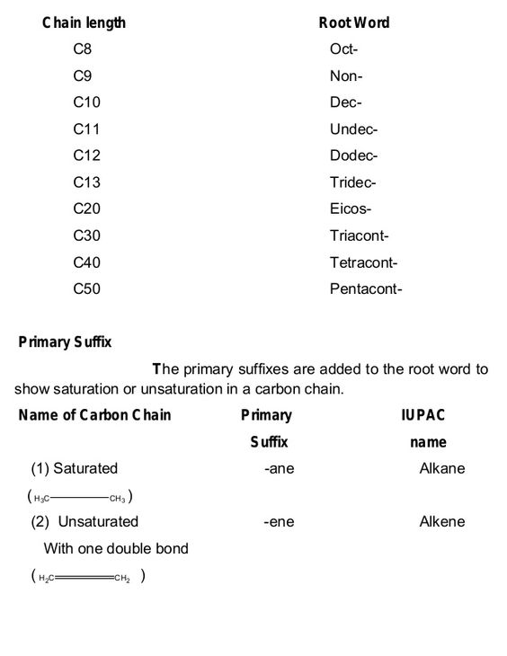 IUPAC nomenclature uses the longest continuous chain of carbon – Oompa Loompa Genetics Worksheet Answer Key