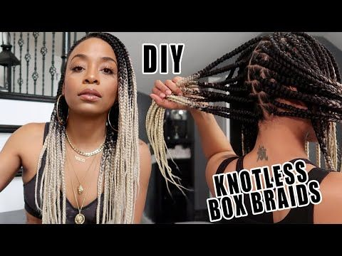 Knotless Box Braids Youtube