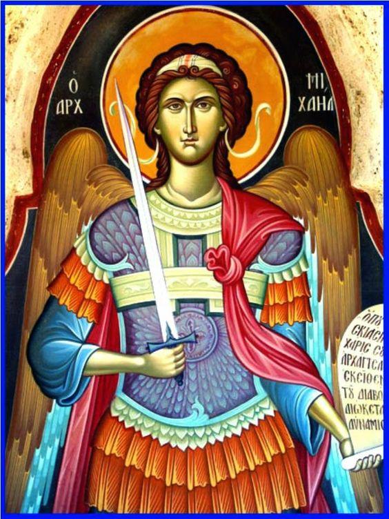 san miguel arcangel iconografia - Buscar con Google: