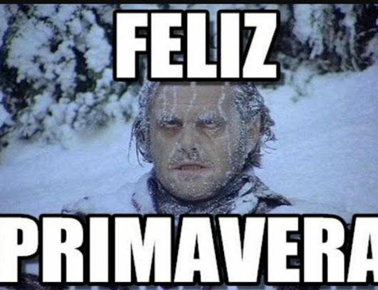 Feliz Primavera Imagen Graciosa De Hoy Nº 88487 Imagenes De Humor Memes De Frio Memes
