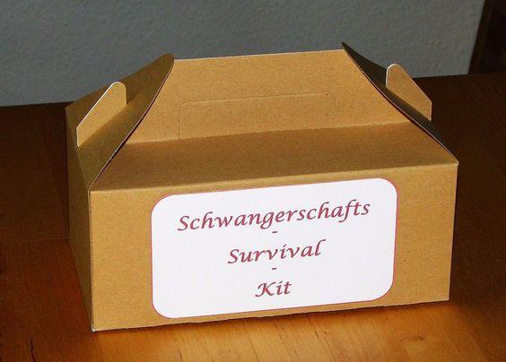 Schwangerschafts-Survival-Kit von Smilland auf DaWanda.com