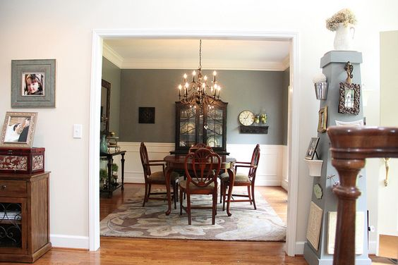 New Blue Dining Room Paint Paint Colors Dining Room