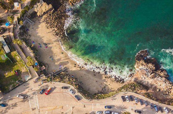 La Jolla Cove, aerial view
