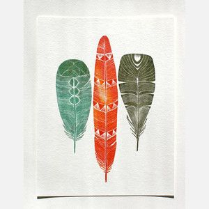 Nature-Inspired Watercolor Print