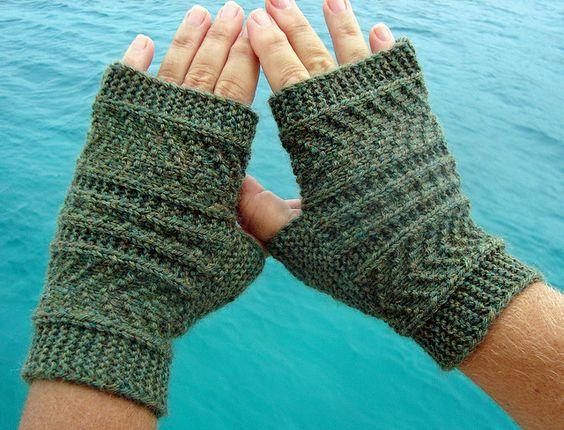 Gansey style fingerless gloves. http://www.ravelry.com/patterns/library/sideways-gansey-style-mitts--mittens