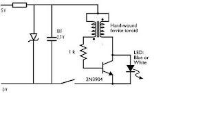 LED w/ cap