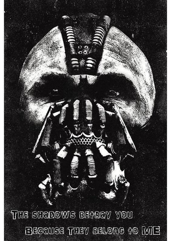 Promotional poster given out at the midnight premier of TDKR.