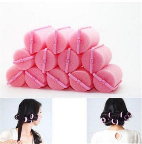 12 Mousse Éponge Bigoudi Rouleau Coiffure Cheveux Permanente Hair Roller Curler in Beauté, bien-être, parfums, Cheveux: soins, coiffure, Produits coiffants, modélants   eBay