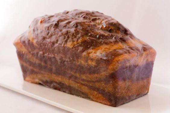 Cake Cebra, de chocolate y vainilla.