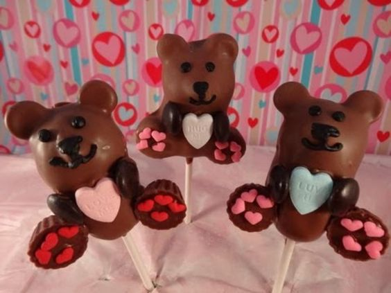 Valentineu0027s Day Bears Walmart. Valentines Day Teddy Bear Cake Pops