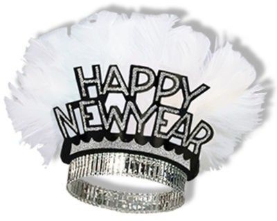 new years eve hats and tiaras