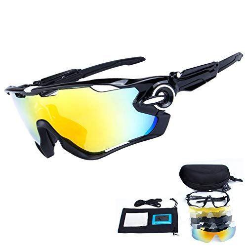 Gafas de Sol Polarizadas Para Hombre Lentes Para Ciclismo Bicicleta Deportivos