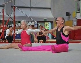 Gymnastics isn't just for kids! Everyone benefits from stronger bones, better balance and having fun!  #WellderlyWeek