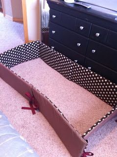 Tutorial on how to make a bumper and crib skirt....I need to make one in Spider-man!