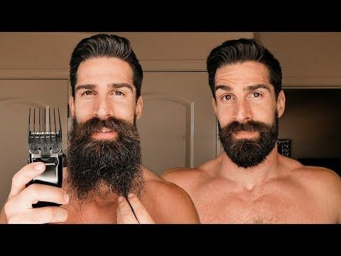 8 Inch Beard Shaved Down To 1 Inch Beard With Number 8 Attachment Youtube Beard Shave Hipster Beard Beard Designs