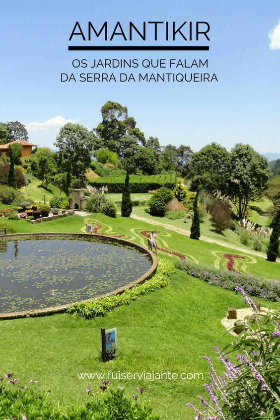Parque Amantikir - Jardins que Falam em Campos do Jordão