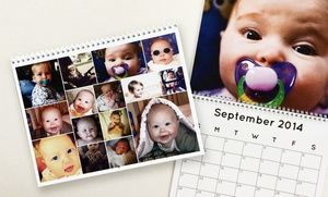 Groupon - One or Three Personalized 12-Month Calendars from Collage.com for $ 9–$18 in [missing {{location}} value]. Groupon deal price: $9