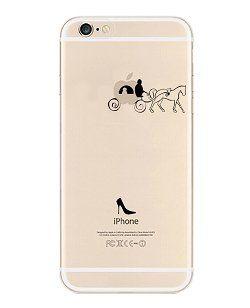 iPhone 6 Case, DECO FAIRY® Protective Case Bumper Ultra Slim Translucent Silicone Clear Case Gel Cover for Apple iPhone 6 (Pumpkin Car) DECO FAIRY® | $8