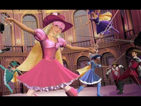 Barbie Y L S Tres Mosqueteras Youtube Barbie Aurora Sleeping Beauty Disney Princess