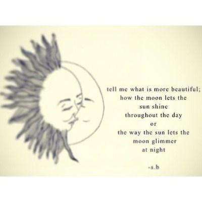 Moon quotes, Sun moon and Sun on Pinterest