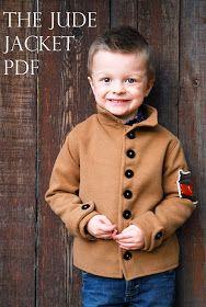 Shwin: New Pattern for a boys Jacket!