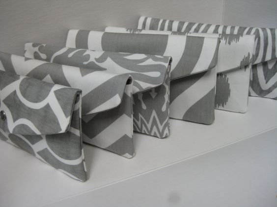 NEW Set of 6Bridesmaids Clutch/Gift /Design Your by KaraMiaSofia, $138.00