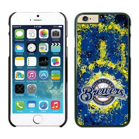 http://www.xjersey.com/milwaukee-brewers-iphone-6-cases-black.html Only$21.00 MILWAUKEE BREWERS #IPHONE 6 CASES BLACK #Free #Shipping!