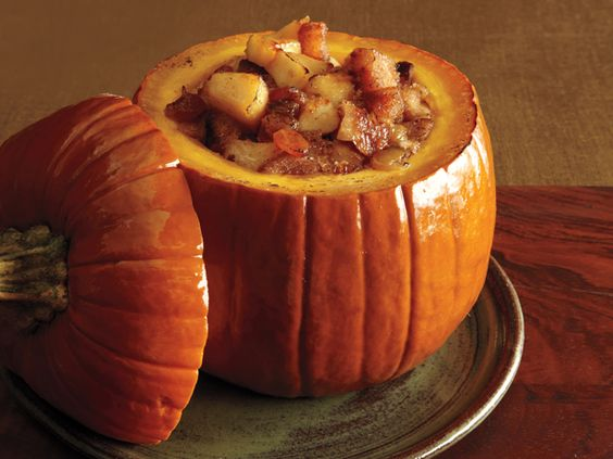 What's cooking? Pumpkin!
