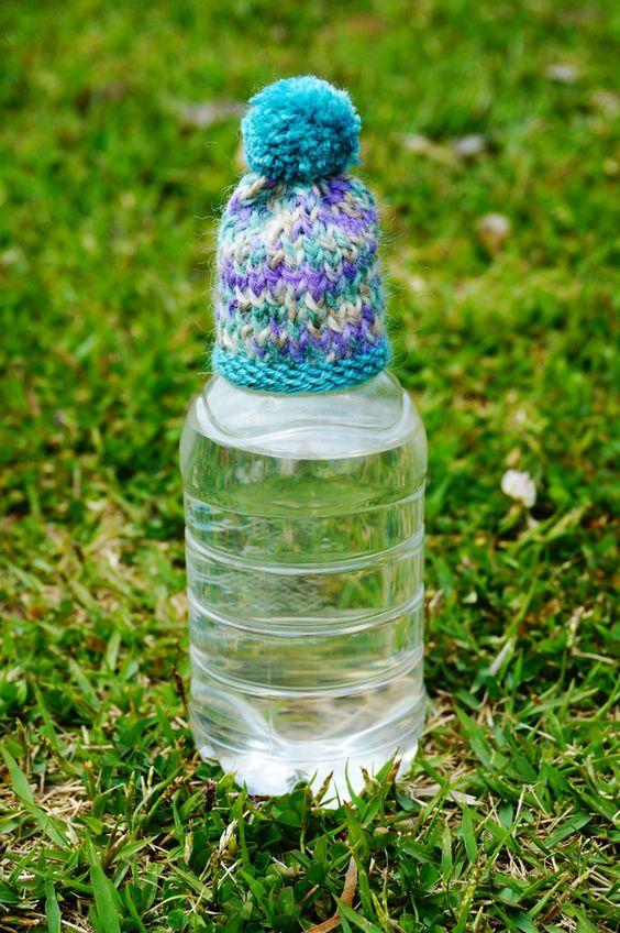 自分のペットボトルだと一目でわかるようにボトルのフタにかぶせて可愛い目印にしてください。|ハンドメイド、手作り、手仕事品の通販・販売・購入ならCreema。