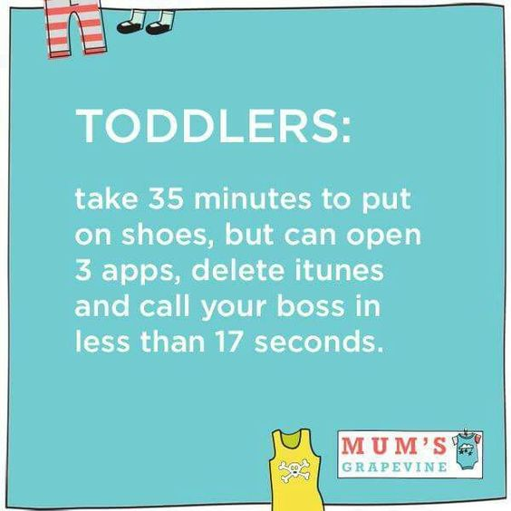 Via @mumsgrapevine. #truth #lifewithtoddler #ParentingHumor