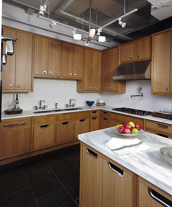 Alta Modern Kitchen Cabinets featured in the Waterworks Kitchen ...