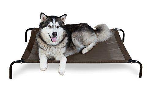 Furhaven Pet Dog Cot Elevated Reinforced Pet Cot For Dogs Cats