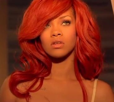 Admirable Rihanna Red Hair And Red Wigs On Pinterest Short Hairstyles For Black Women Fulllsitofus