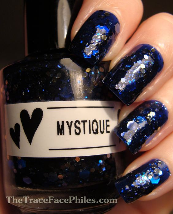 "HazeGlaze ""Mystique"" on Etsy // #indiepolish"