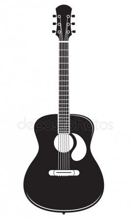 Acoustic Guitar Vector Stock Vector Ad Guitar Acoustic Vector Vector Ad Guitar Vector Free Printable Wall Art Quotes Printable Wall Art Quotes