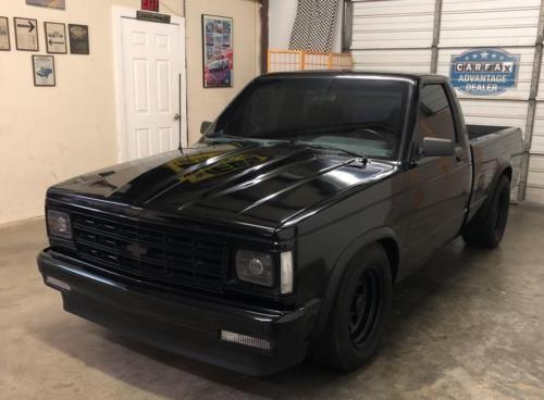 1983 Chevrolet S 10 V8 Pickup Truck Conversion Worldwide Shipping