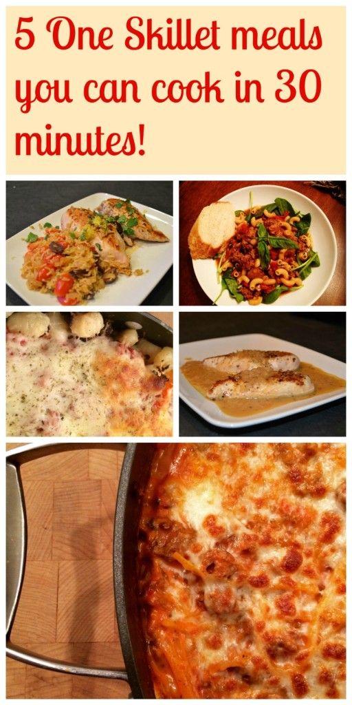 One skillet meals skillet meals skillets meals meal recipes recipe