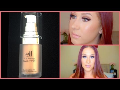 Elf Illuminating Primer review! Some elf products are really amazing! This is a newer primer and I wanted to see if it was worth the $6.00.