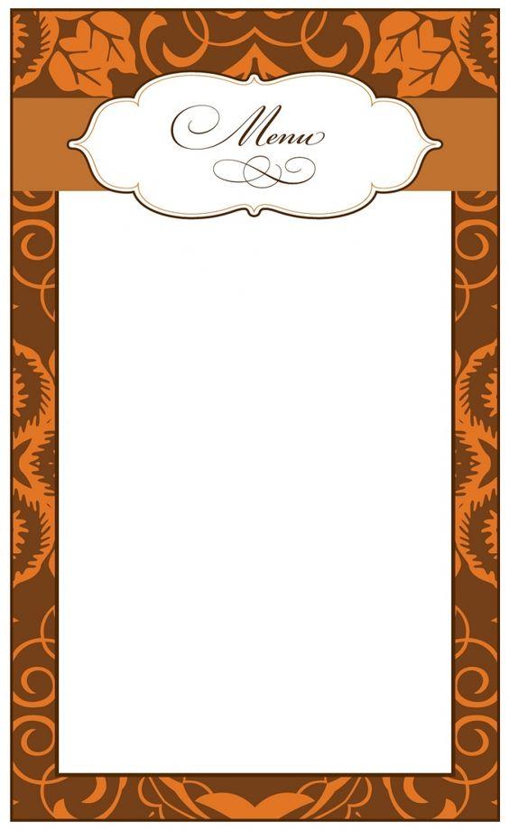 Gut bekannt Imprimer carte menu de Noël vierge à imprimer et remplir | Les  JK41