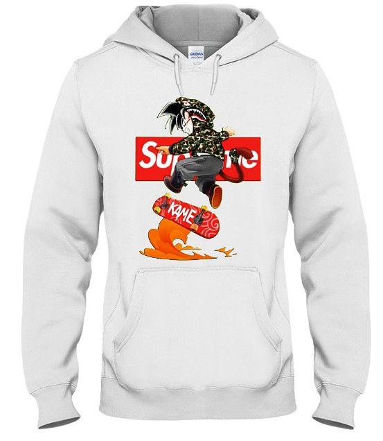 goku supreme hoodie, goku supreme sweatshirt, goku supreme
