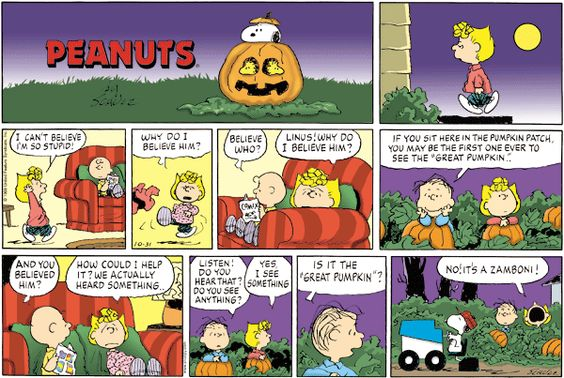 October 31, 1999 - the great pumpkin
