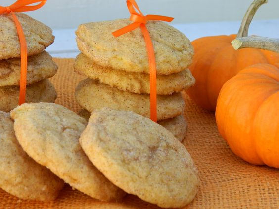 The Wednesday Baker: PUMPKIN SNICKERDOODLE COOKIES