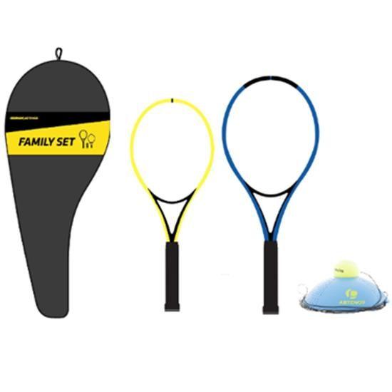 Tennis Set Trainer Junior Duo 2 Schlager 1 Ball Is Back 1 Husse In 2020 Tennisschlager Ball Schlage
