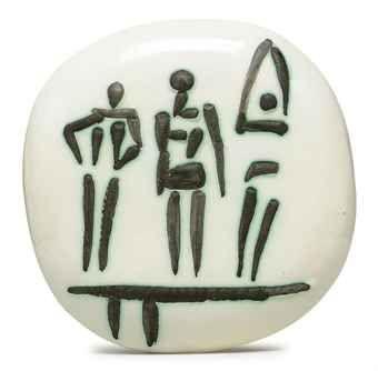 Three Figures on Trampoline