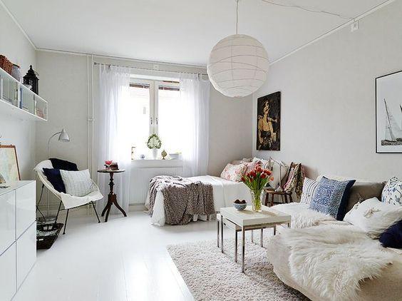 One Room Design Ideas idei de design pentru garsoniera one room apartment design ideas